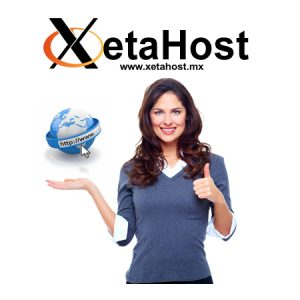 Xetahost webhosting mexico